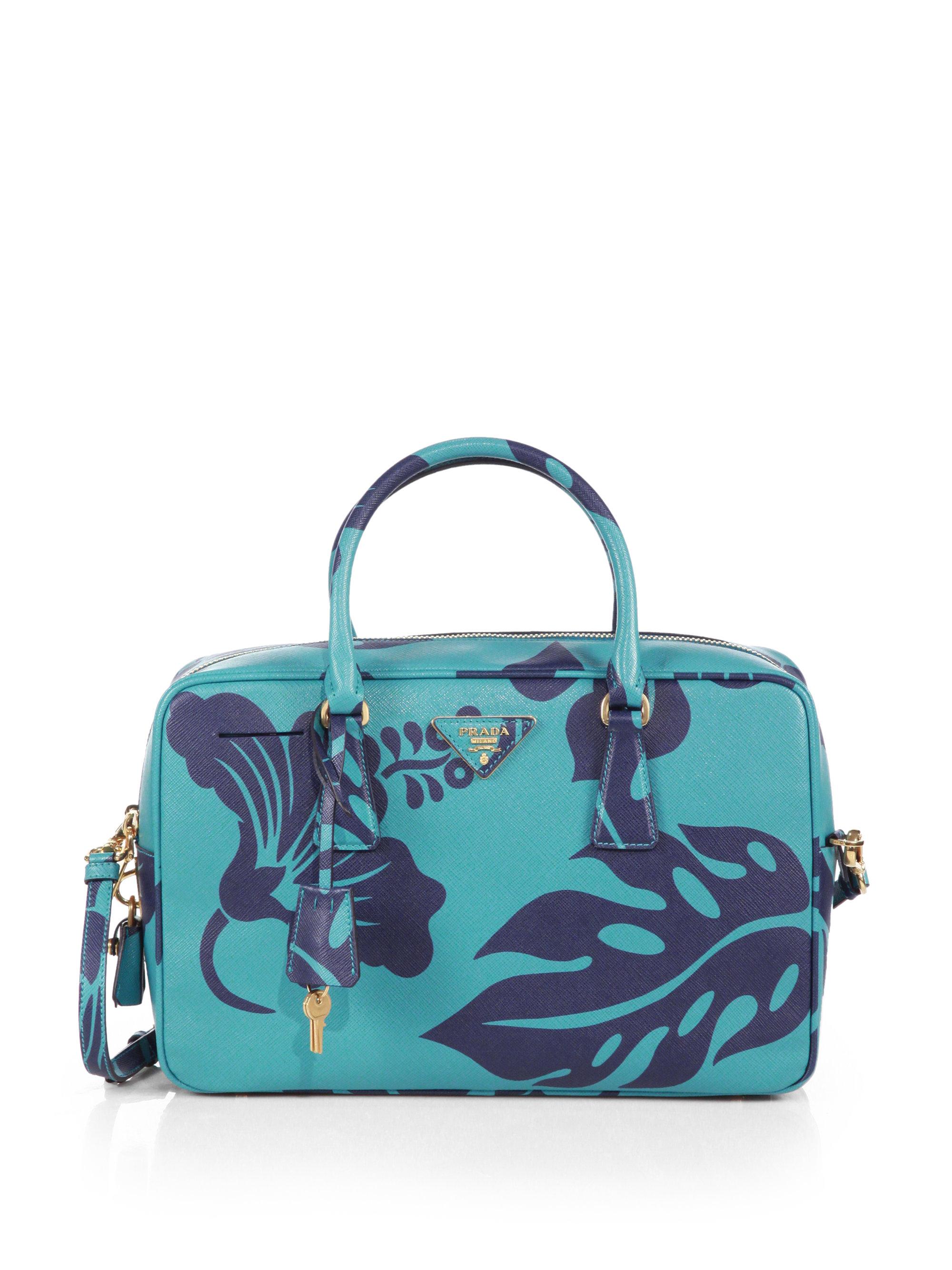 9c220c8f432b22 discount code for lyst prada rabbit print python inside bag in blue b77a9  f6f76; low cost lyst prada saffiano print tv bag in blue 16945 88c9a