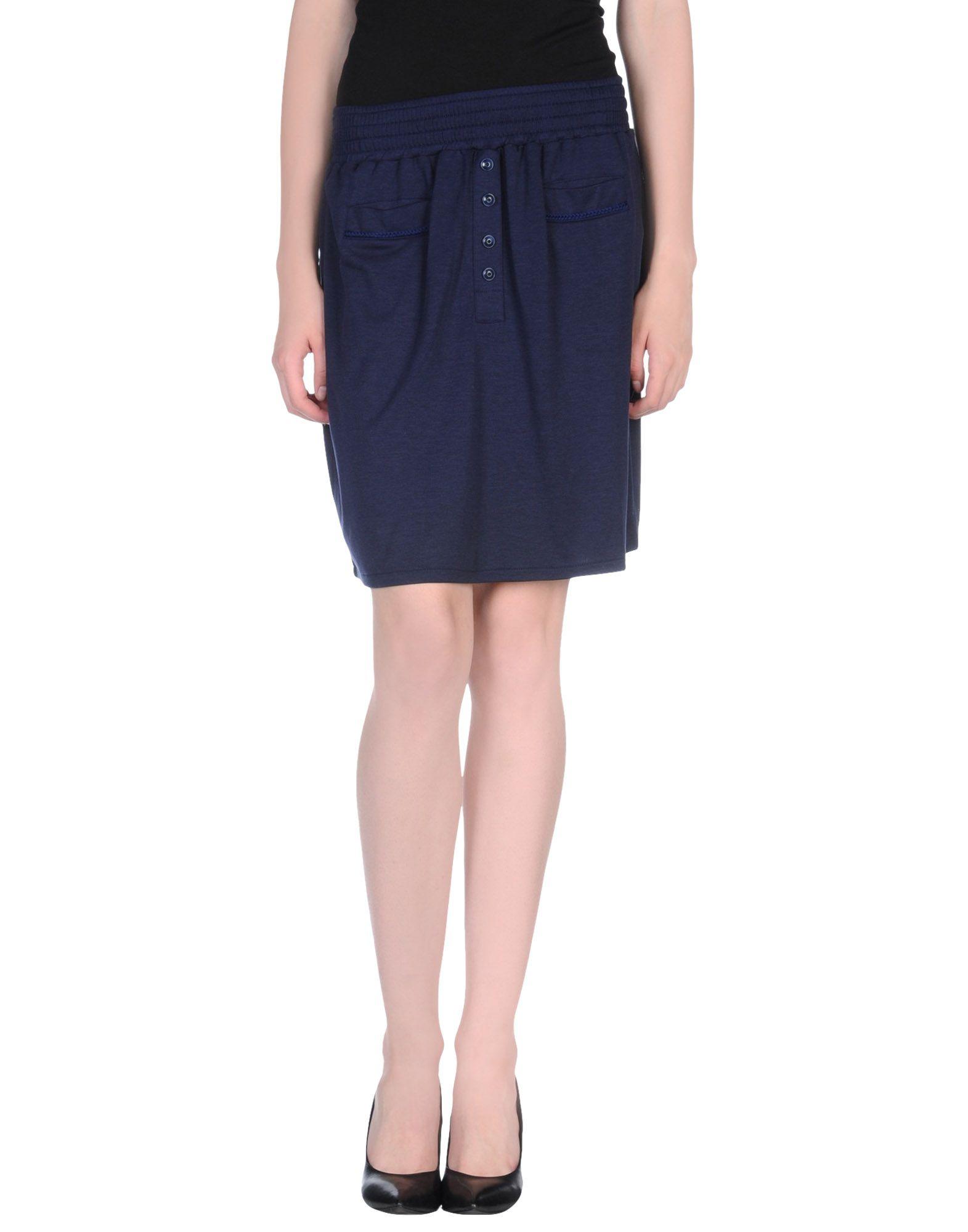 sessun knee length skirt in blue blue save 63 lyst
