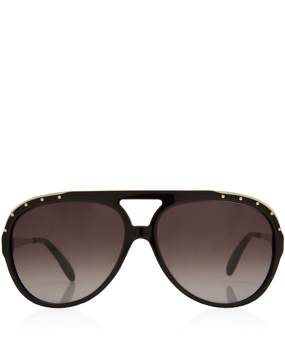 men aviators 2887  mens alexander mcqueen sunglasses aviators