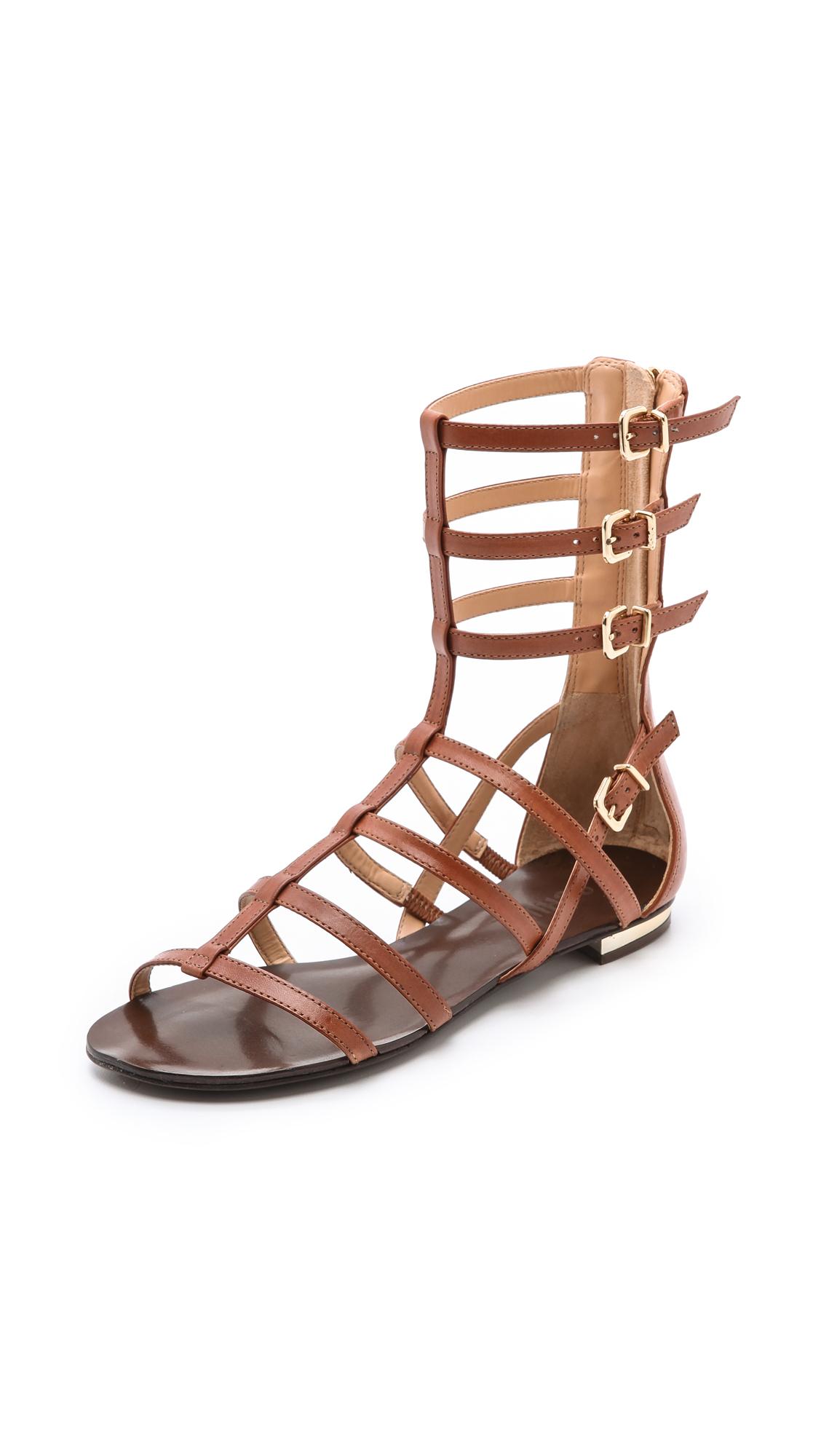 32784f647d6 Lyst - Schutz Fanny Gladiator Sandals in Brown