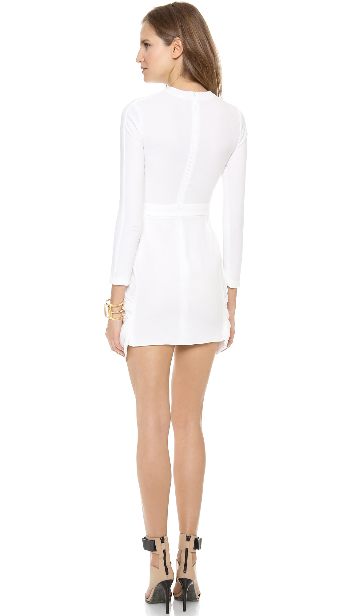 Lyst A L C Tolan Dress In White