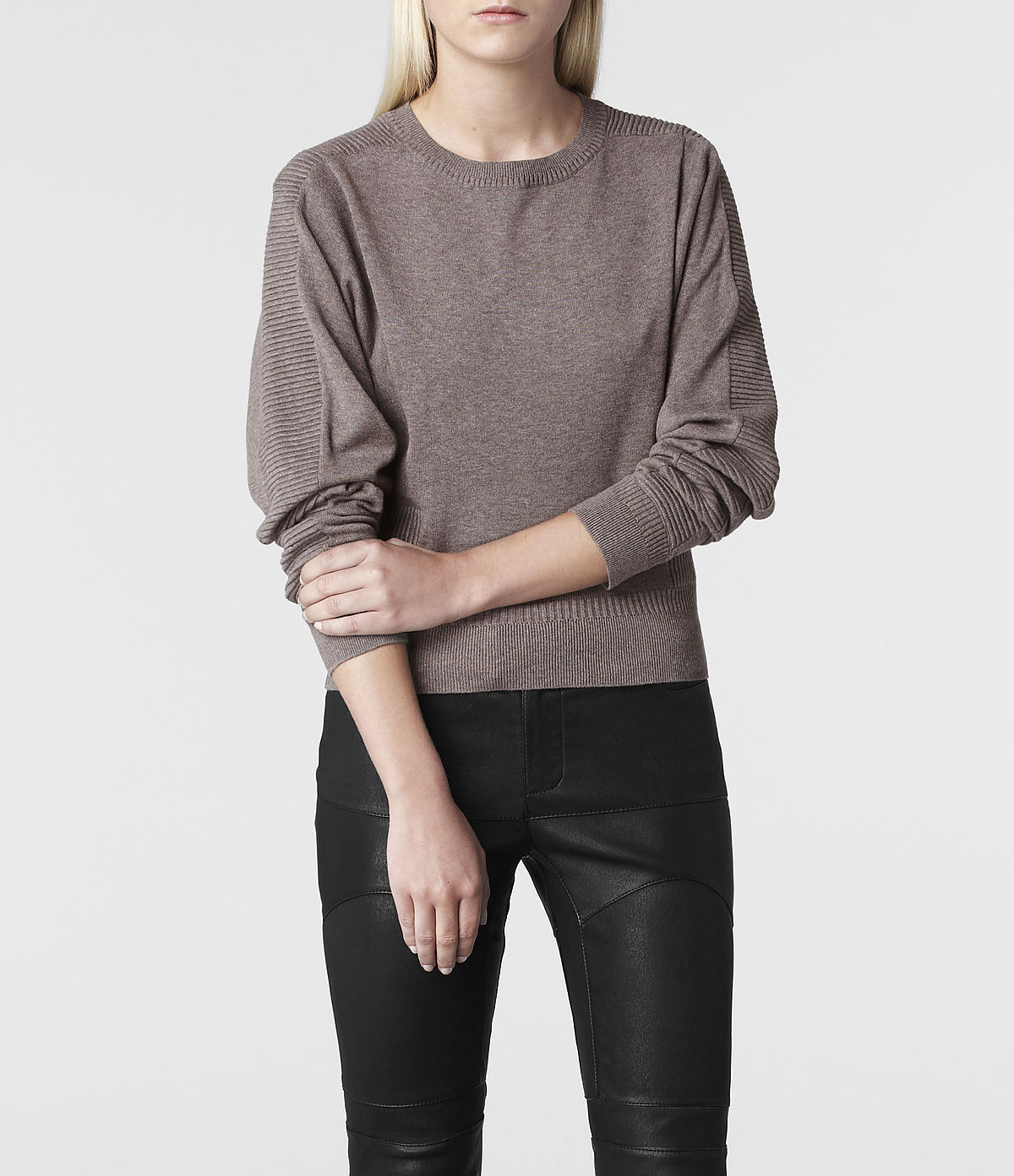 Allsaints Tide Jumper in Gray | Lyst