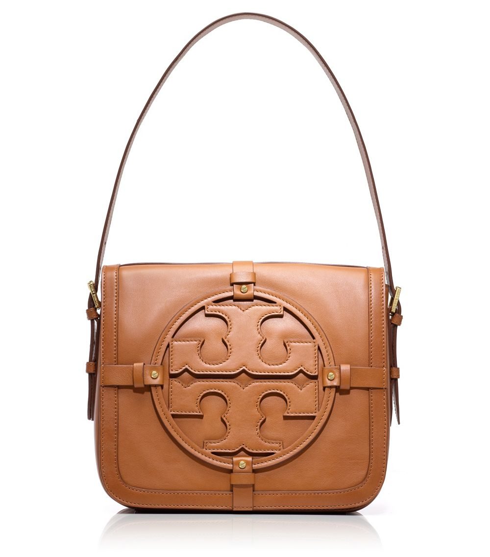 Lyst - Tory Burch Holly Shoulder Bag in Brown