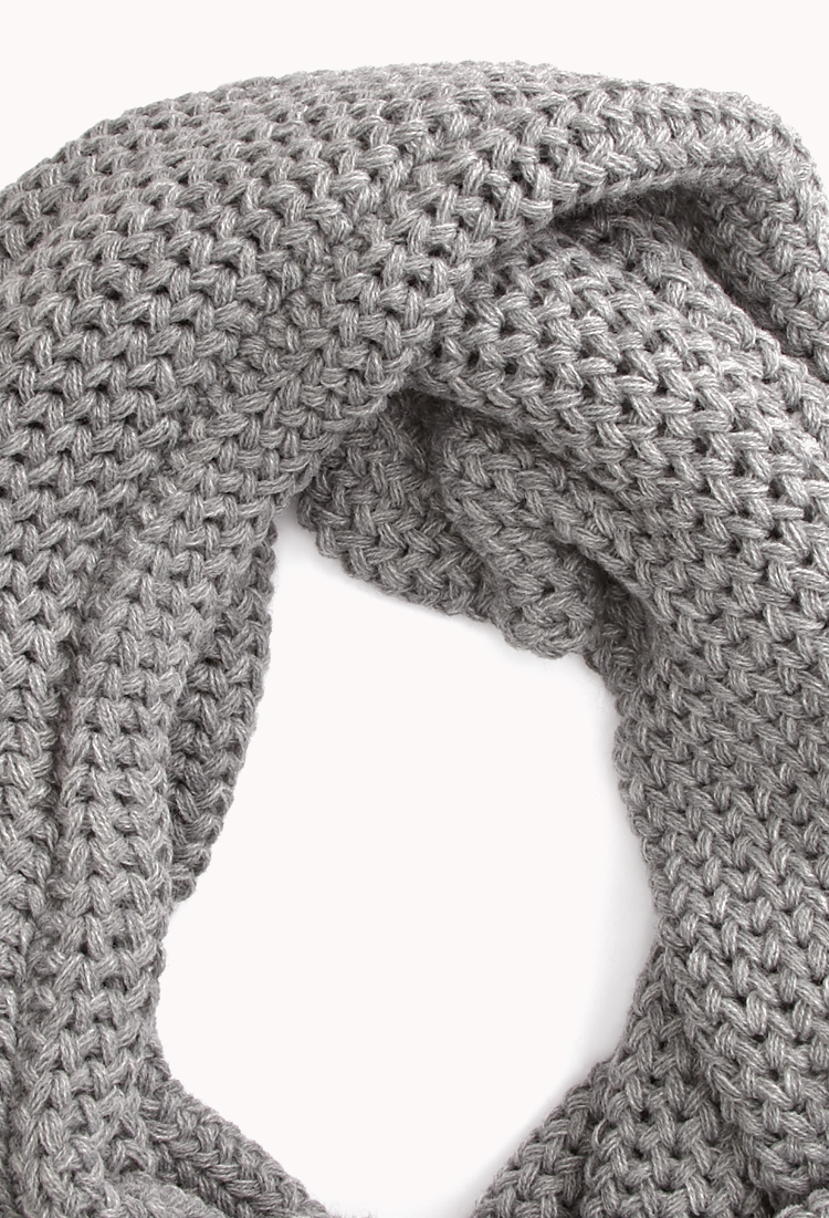 Forever 21 Cold Days Infinity Scarf in Gray Lyst