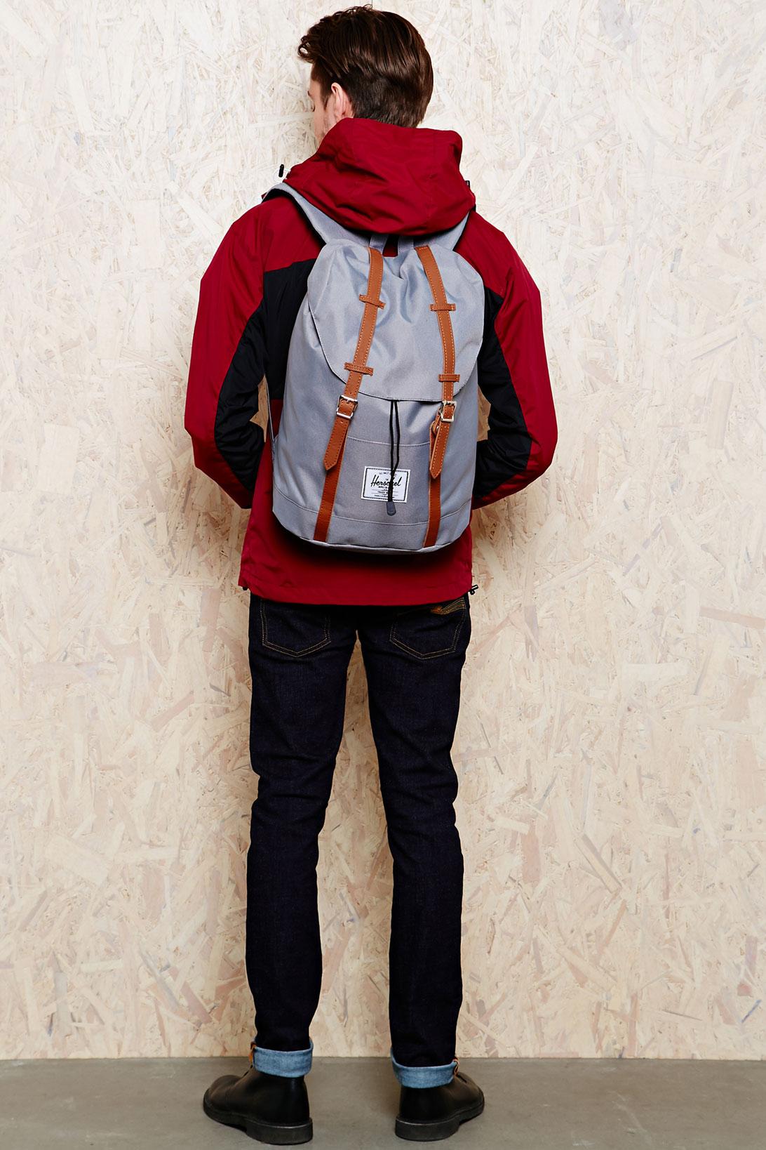 Dr. Denim Herschel Retreat 18l Backpack in Grey in Gray for Men - Lyst 3d403fa8f422d