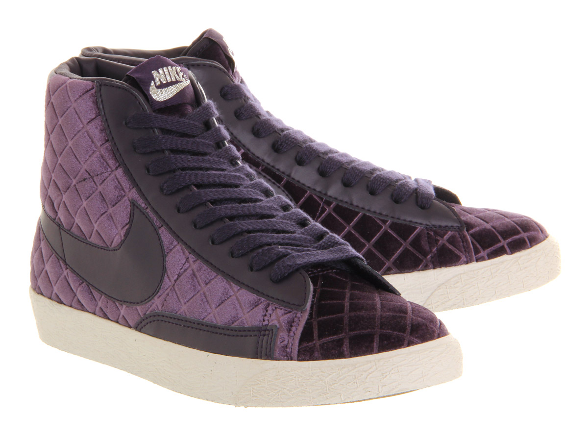 huge discount 81b0a 7558e ... nike blazer mid black padded velour exclusive .
