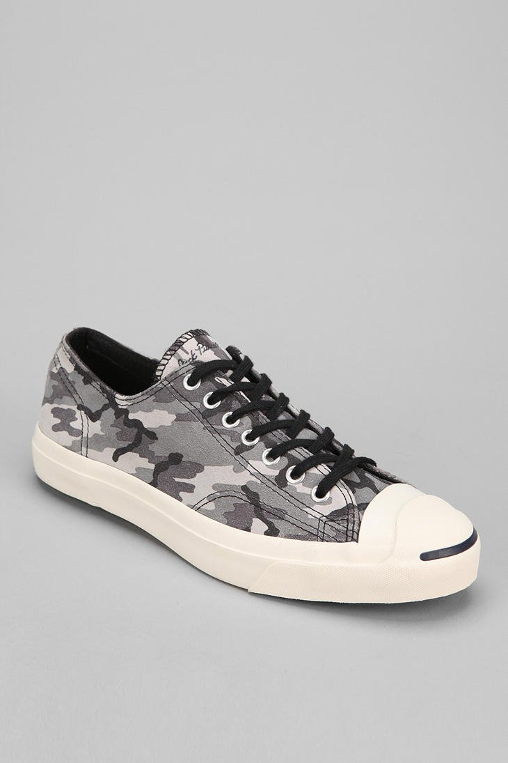 Urban Outfitters Camo Suede Mens Lowtop Sneaker in Gray for Men (GREY) | Lyst