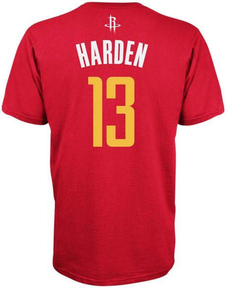 Adidas Men S Houston Rockets James Harden Player T Shirt