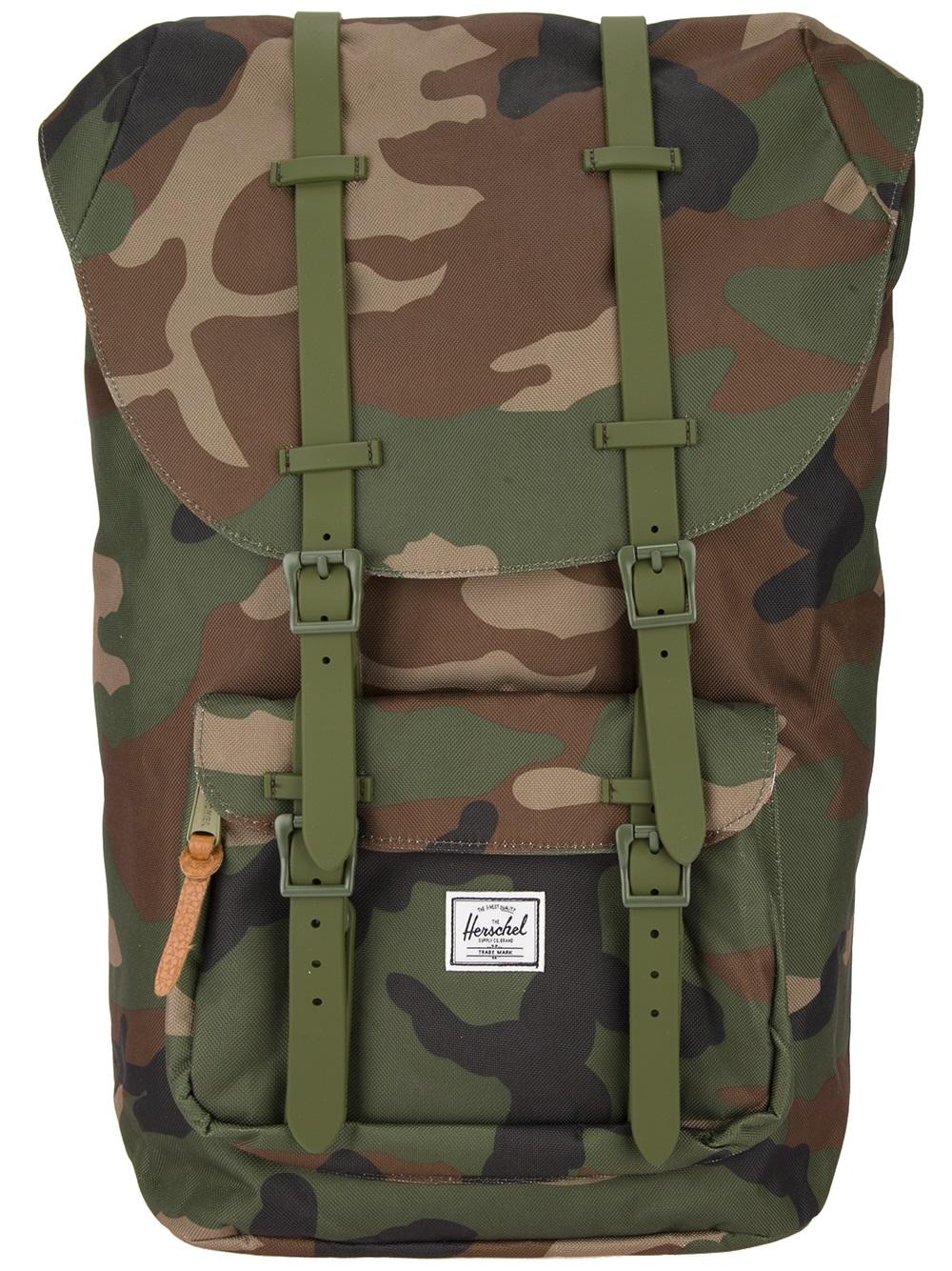 eeb129fd9b2 Camouflage Herschel Backpack- Fenix Toulouse Handball