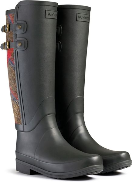 Brilliant Hunter Sandhurst Carlyle Riding Boots In Blue  Lyst