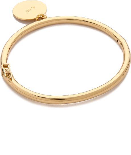 kate spade i do charm bangle bracelet gold in gold lyst