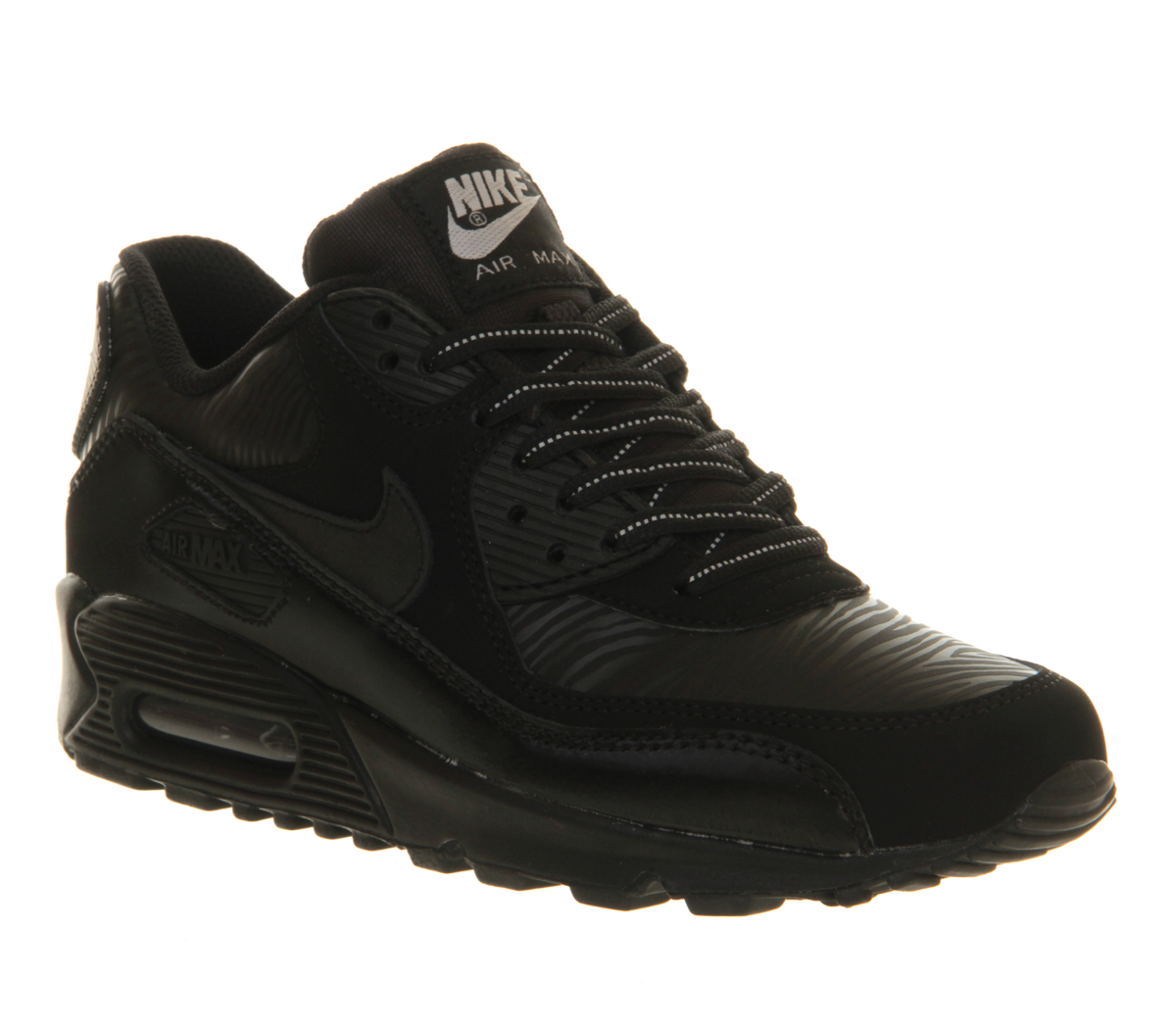 nike air max 90 gs in black lyst. Black Bedroom Furniture Sets. Home Design Ideas