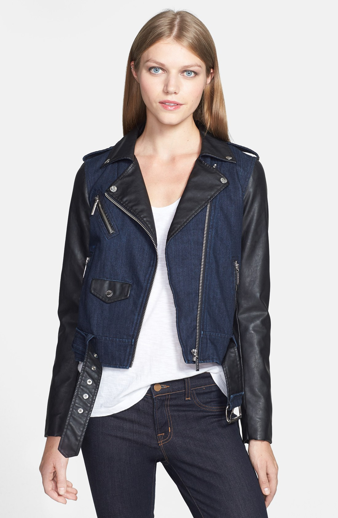 How to wash faux leather jacket