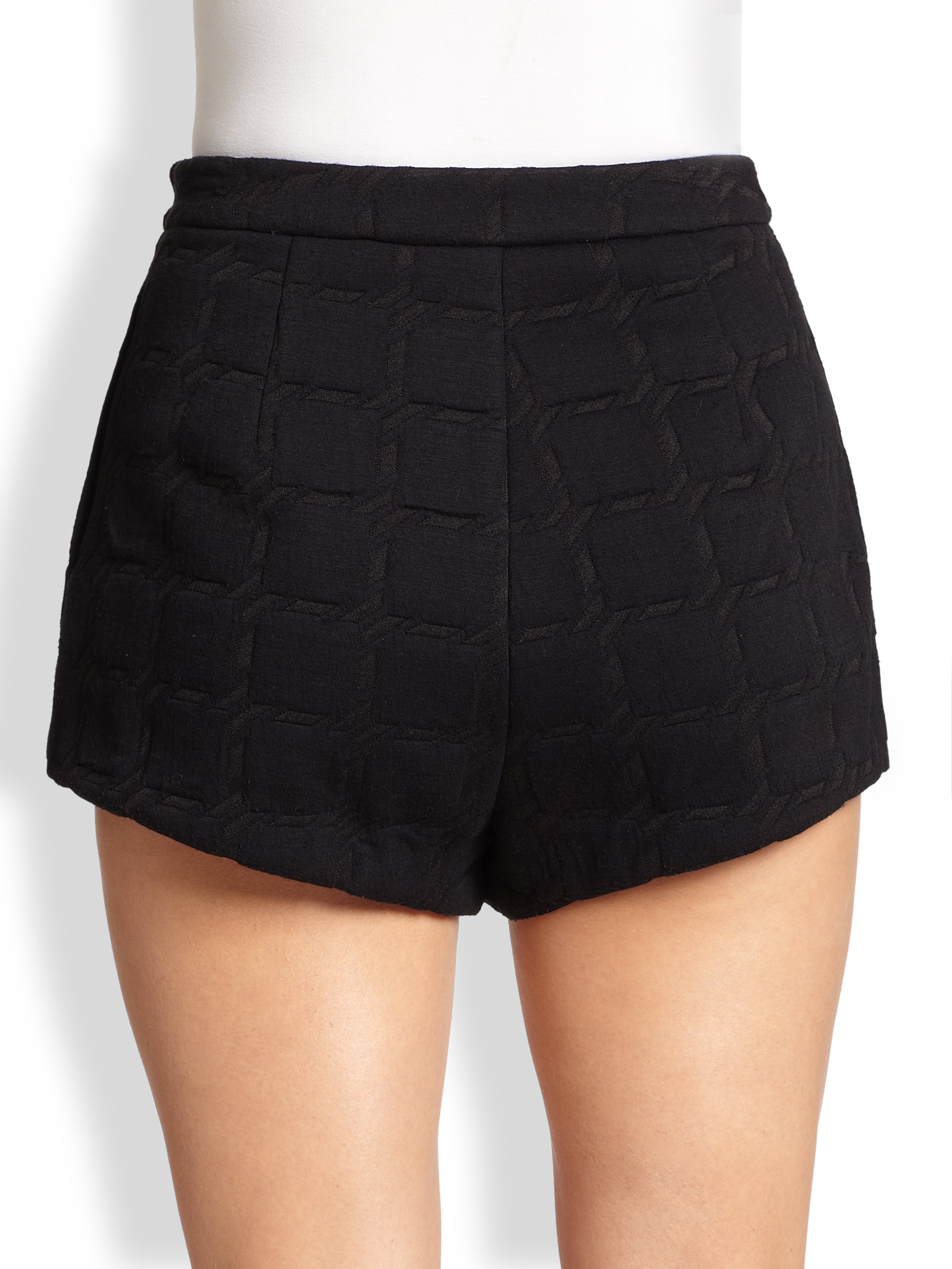 T by Alexander Wang High-Rise Mini Shorts w/ Tags Discounts Sale Online Free Shipping Prices Outlet Discounts Free Shipping Cheapest T8G3Ecz1A