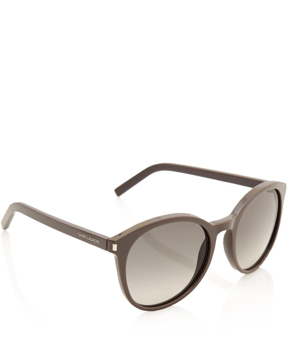rounded sunglasses - Grey Saint Laurent Eyewear OqxfTrU