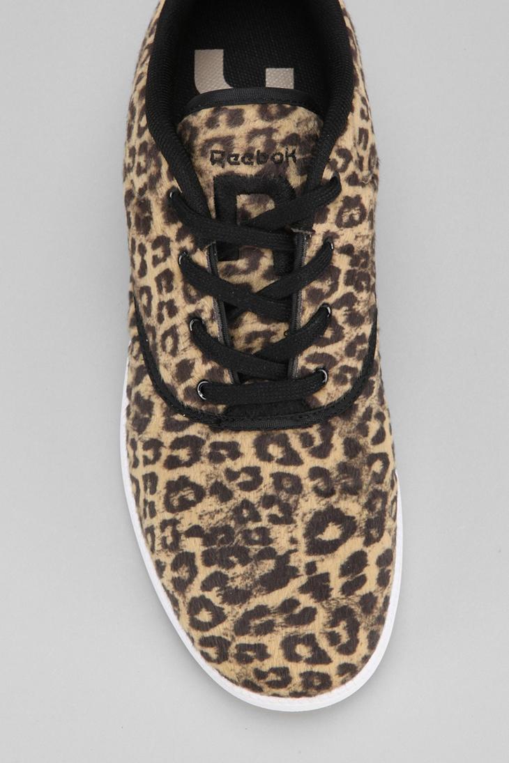 1ac1fbaafec260 Lyst - Urban Outfitters Reebok Berlin Animal Print Sneaker in Brown