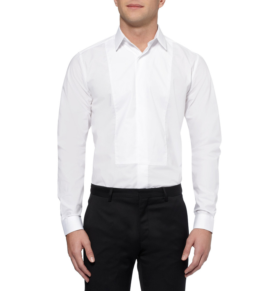 Ami button down classic shirt in white for men lyst for Preppy button down shirts