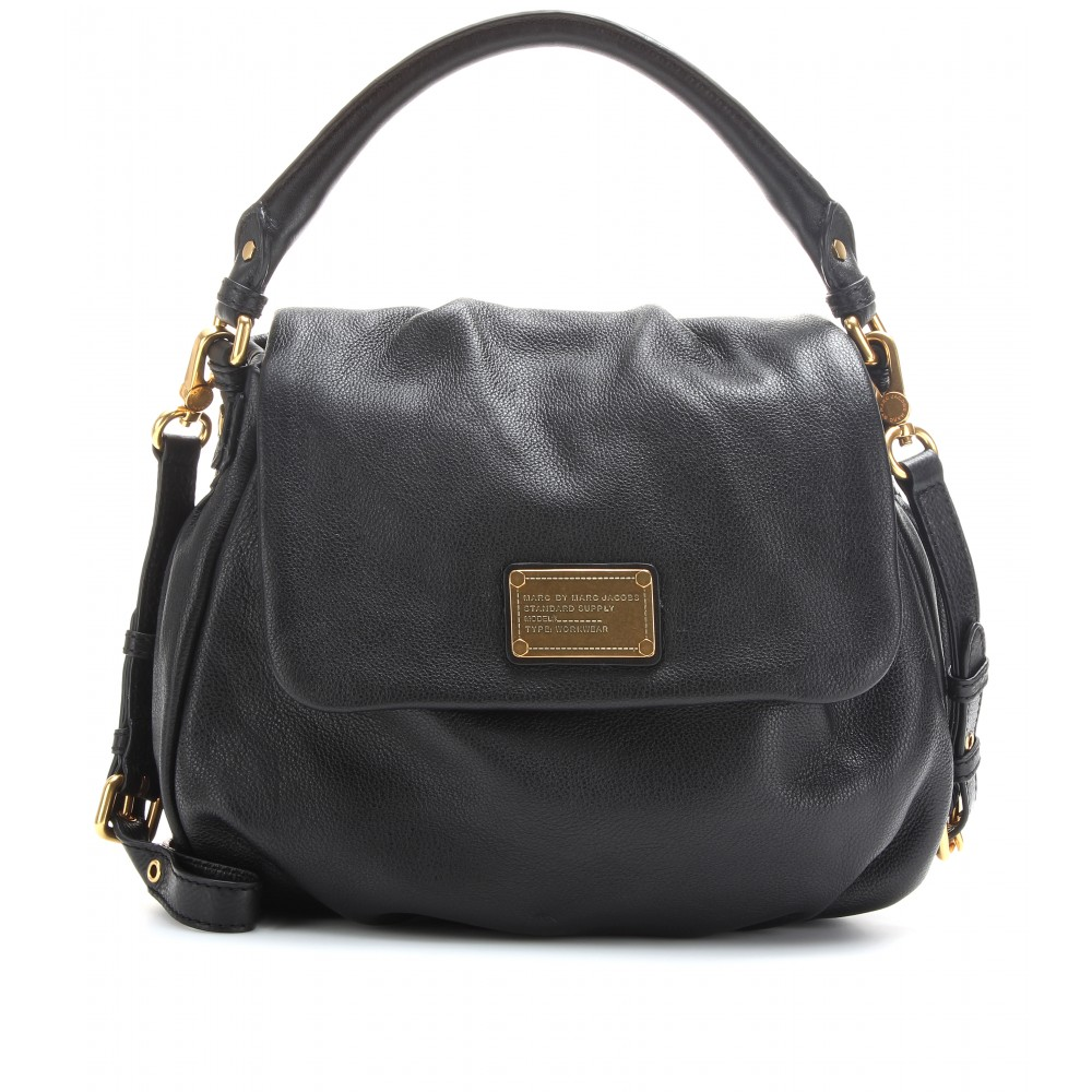 Lyst Marc By Marc Jacobs Lil Ukita Leather Shoulder Bag