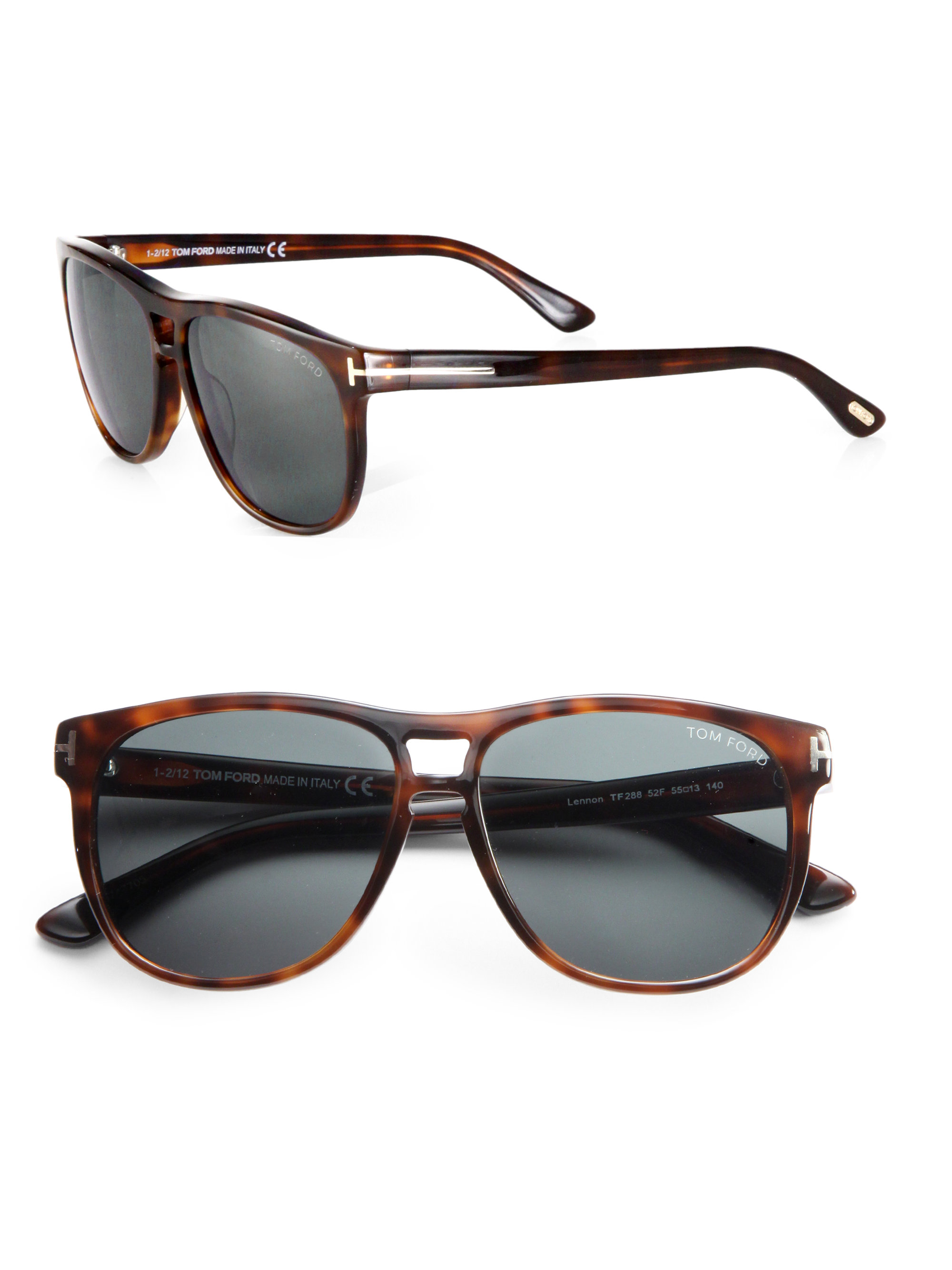 tom ford callum sunglasses in brown for men lyst. Black Bedroom Furniture Sets. Home Design Ideas