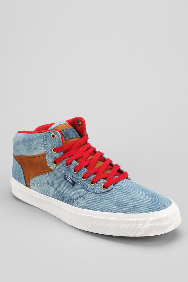 bffa5795264a0b Lyst - Urban Outfitters Otw By Vans Bedford Tiedye Midtop Mens ...