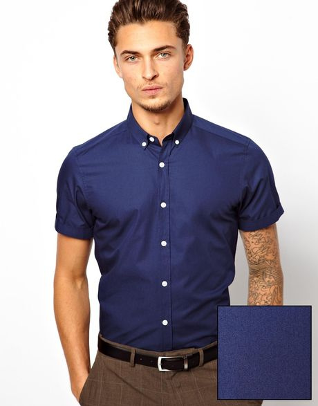 Buy Short sleeve shirts from the Mens department at Debenhams. You'll find the widest range of Short sleeve shirts products online and delivered to your door. Shop today!