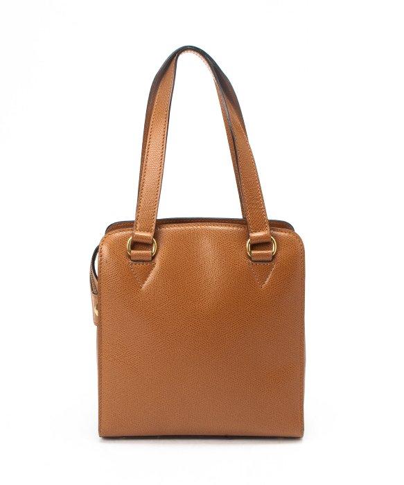 celine large brown leather bag