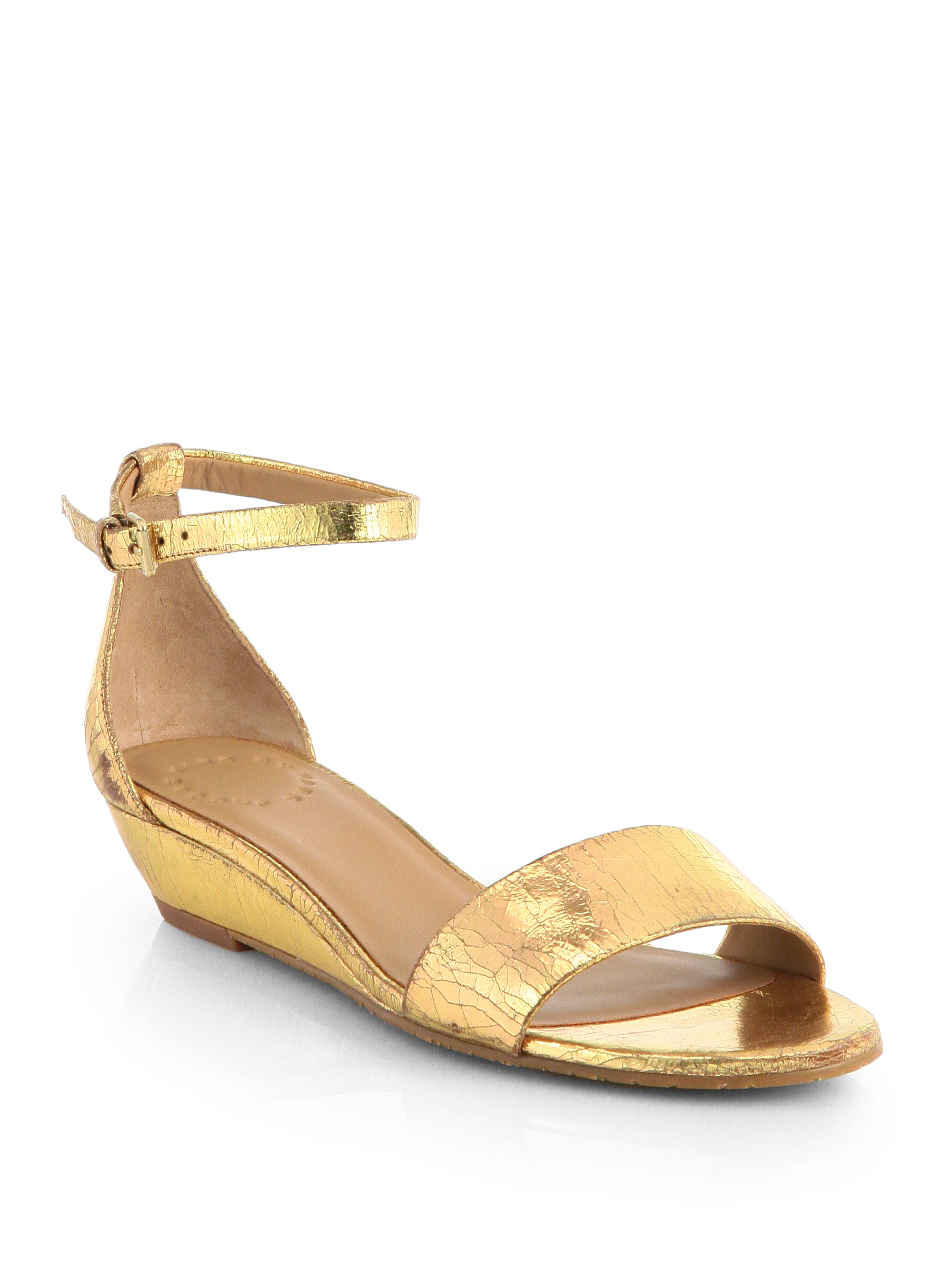 gold metallic wedge sandals 28 images womens gold