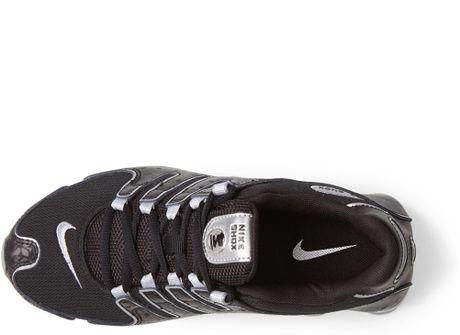 Hommes Nike Shox Nz - Chaussures Nike Shox Nz Eu Sneaker Noir Argent Exahommes