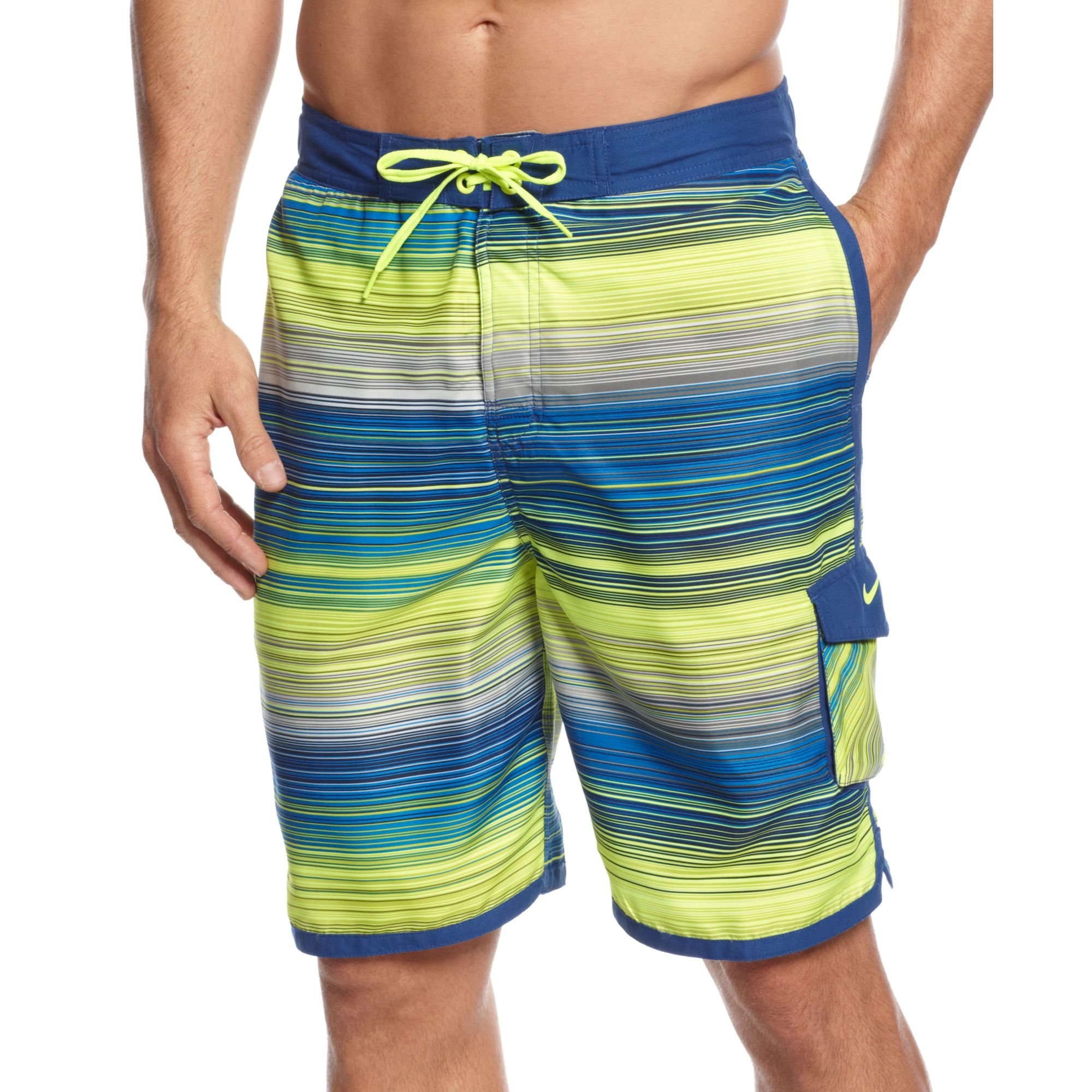 Nike Board Shorts in Yellow for Men (Storm Blue) | Lyst