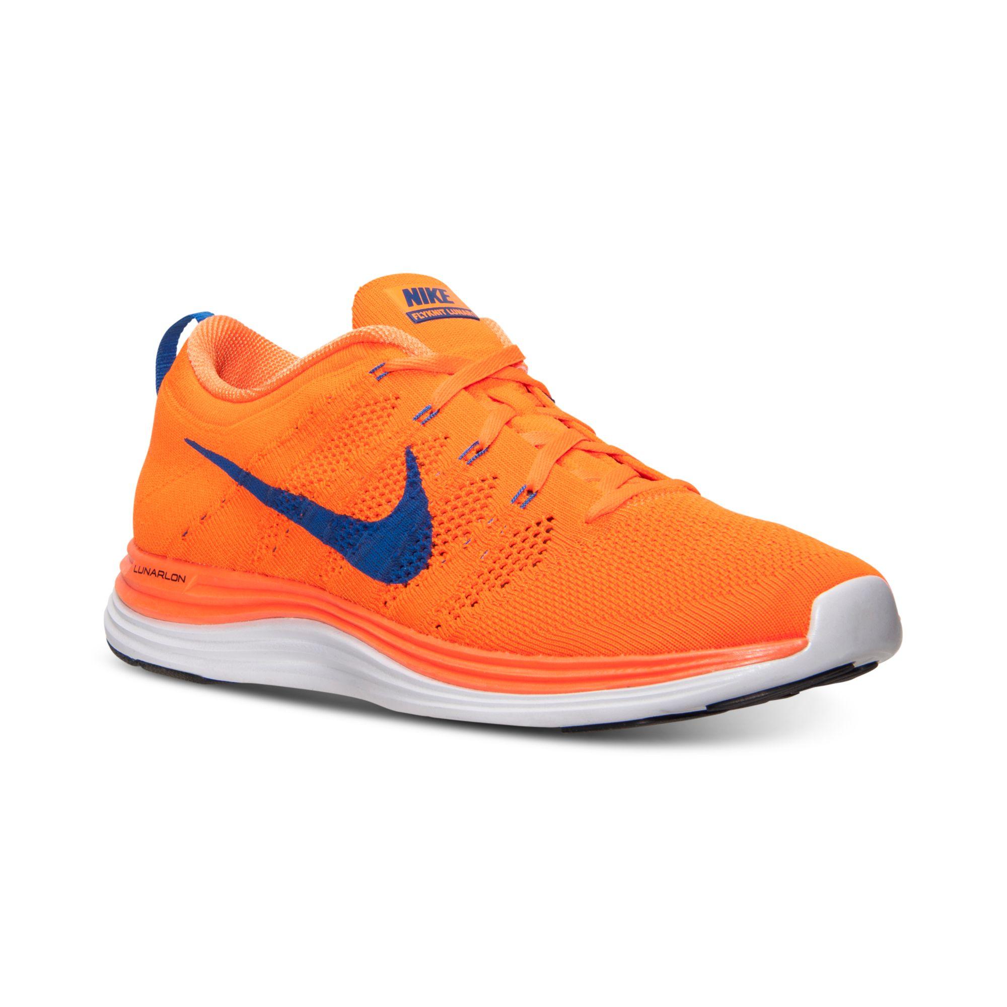 Nike Hommes Flyknit Lunaires 1 Chaussures De Course À Partir De La Ligne Darrivée
