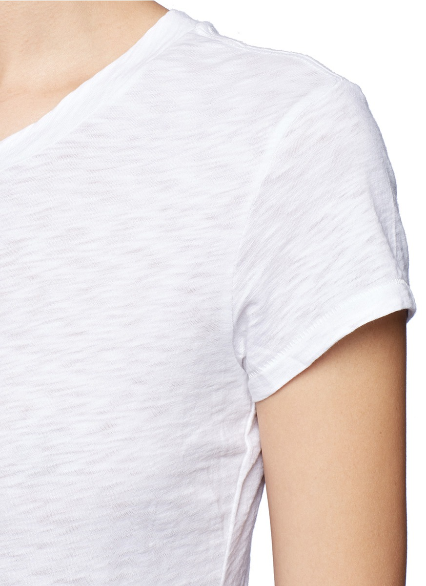 Lyst rag bone 39 the brando 39 t shirt in white for Rag and bone white t shirt
