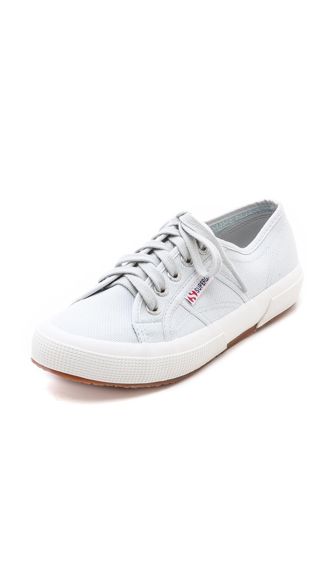 Superga: Superga Cotu Classic Sneakers In White (Aluminum)