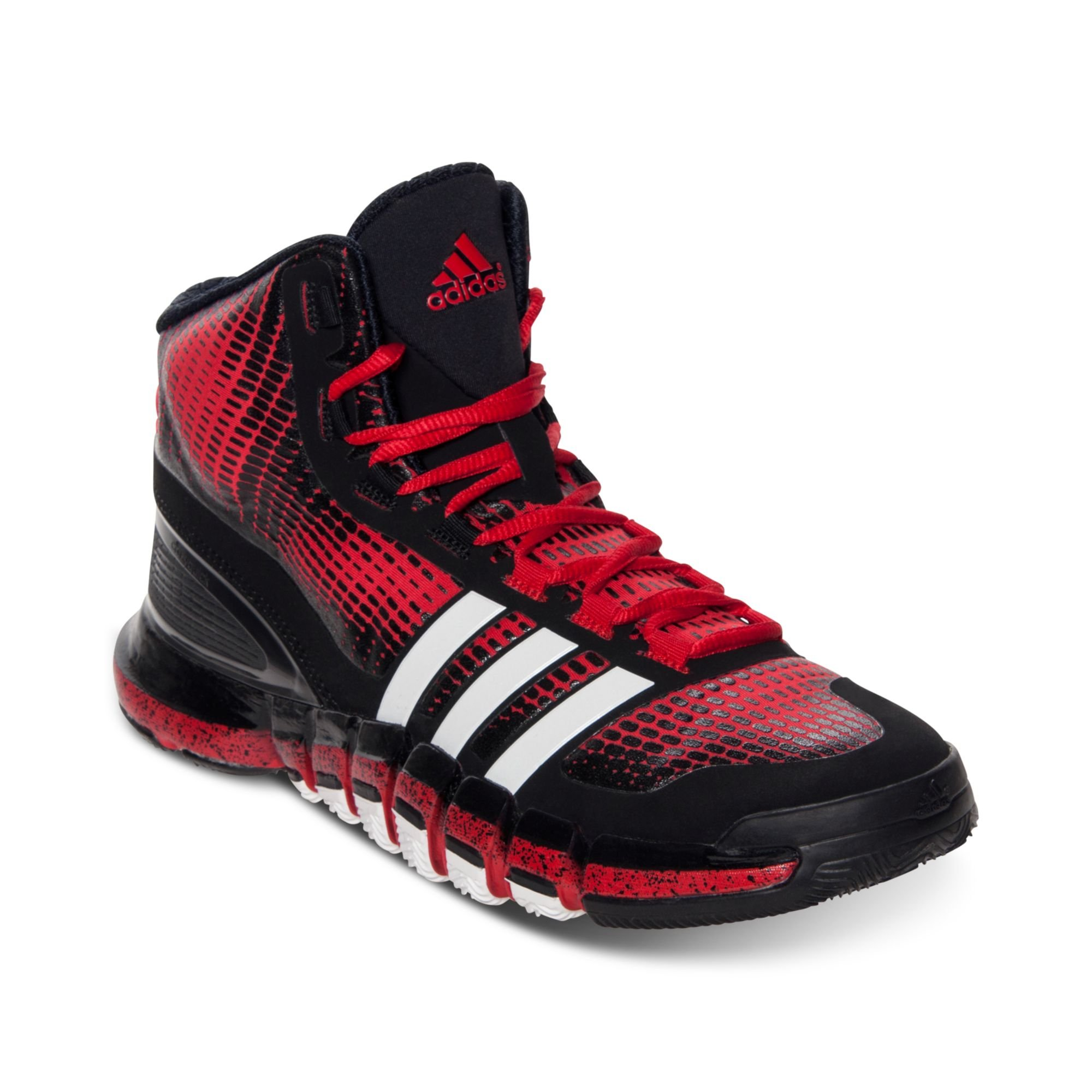 new concept 4d10a afefe Lyst - adidas Mens Crazy Quick Basketball Sneakers From Fini