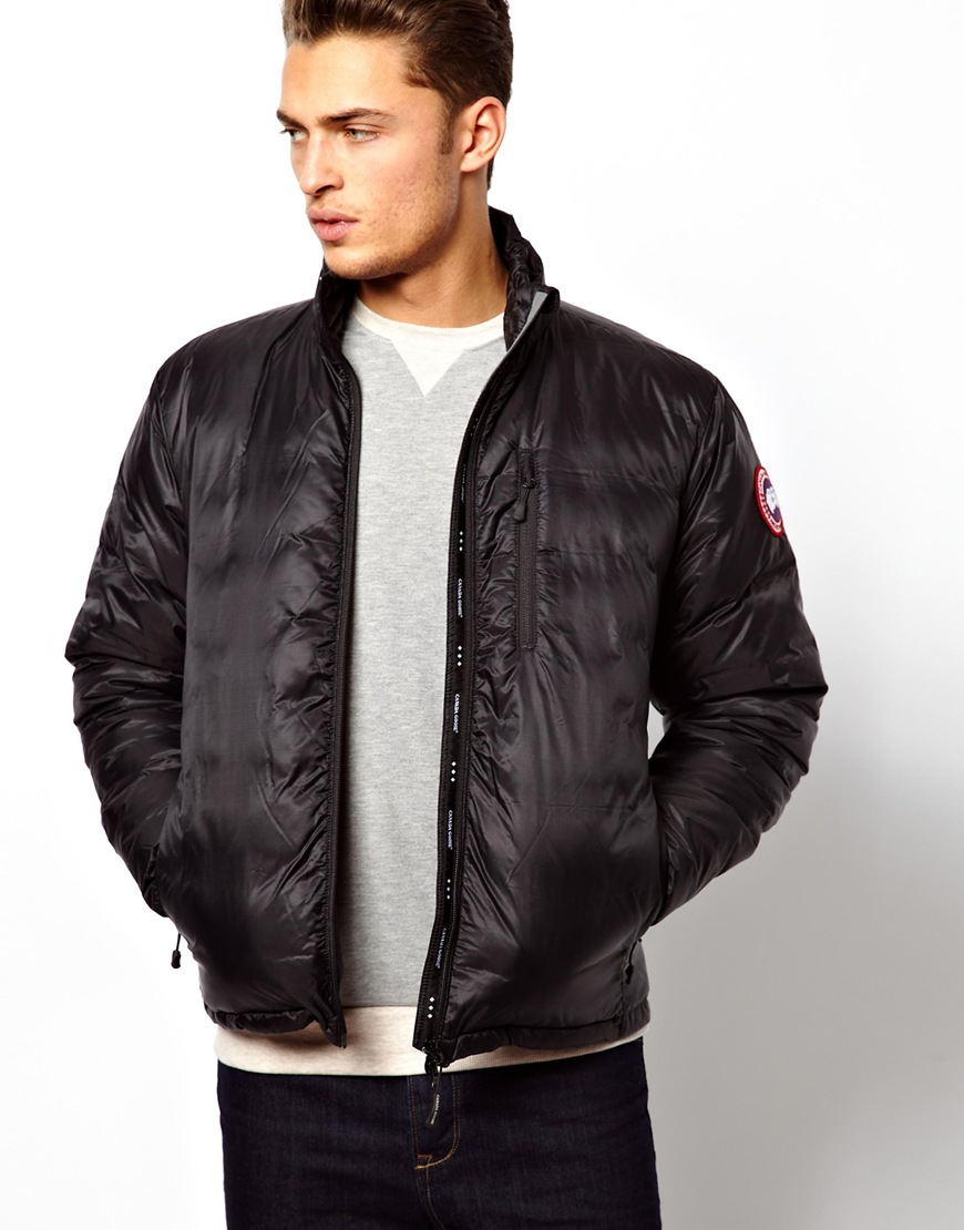 Canada Goose womens sale store - Canada goose Lodge Jacket With Down Fill in Black for Men | Lyst