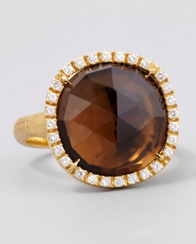 Marco Bicego Jaipur 18K Diamond Bezel Ring 3qAxEQs