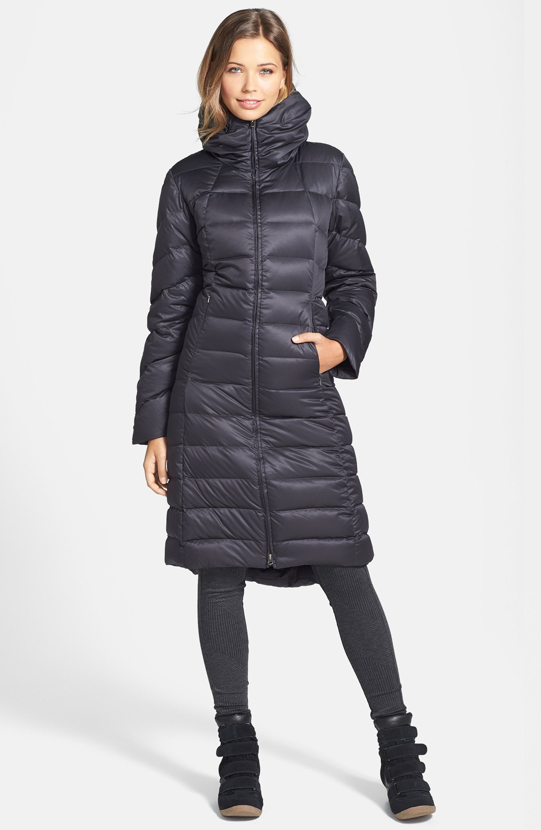 Patagonia Downtown Loft Parka In Black Lyst