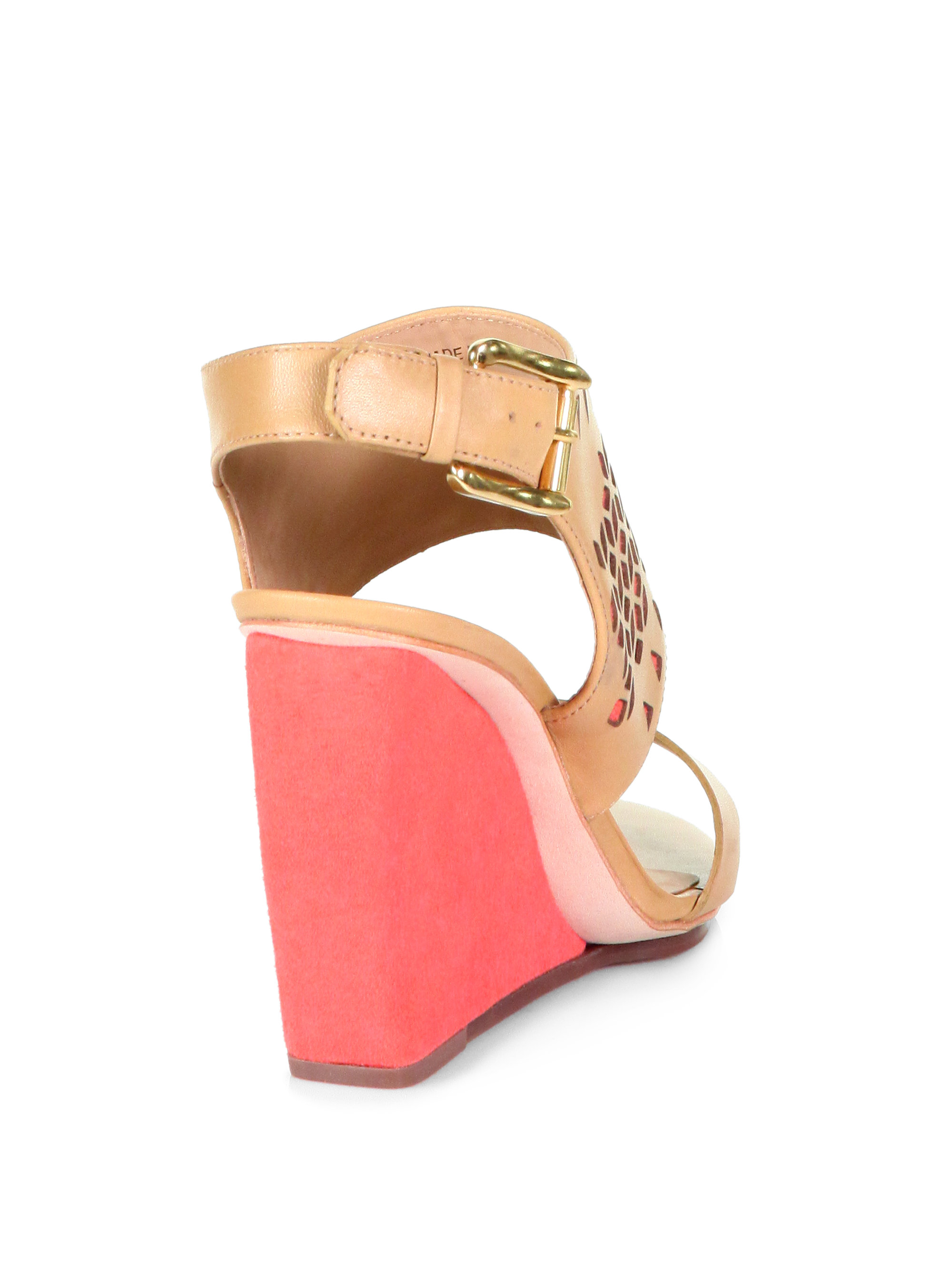Rebecca Minkoff Leather Laser Cut Wedges cheap nicekicks countdown package cheap price purchase sale online sale websites with credit card cheap price hGlJkwWzh0
