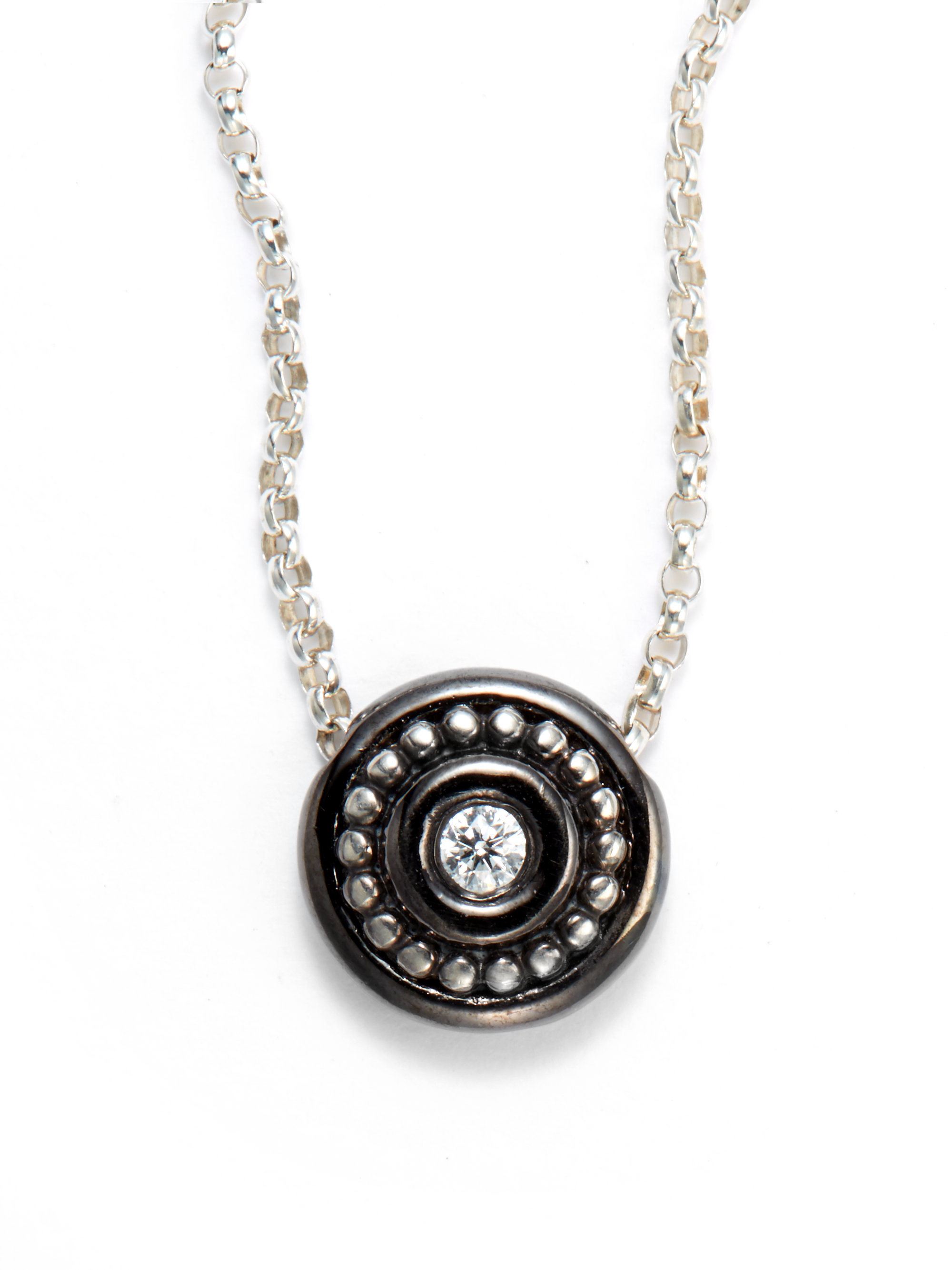 medallion products eye sisco clsoe berluti necklace circle seeing the pendant