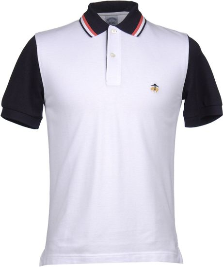 Brooks Brothers Polo Shirt in White for MenBrooks Brothers Polo