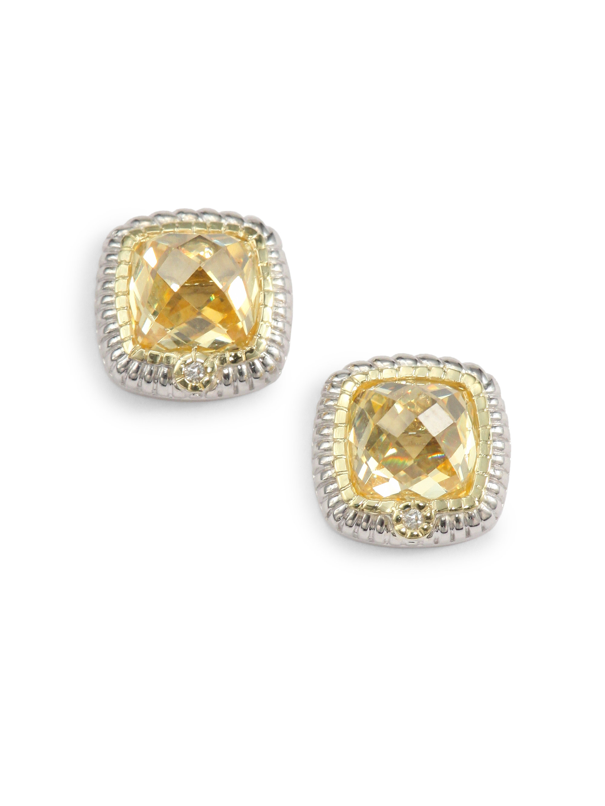 waterman in product designers rustic earrings gold zoom canary diamond wat cathy