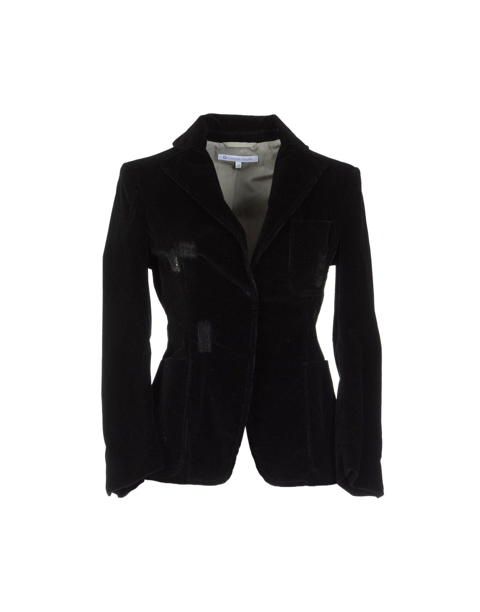 L Autre Chose Blazer In Black Lyst