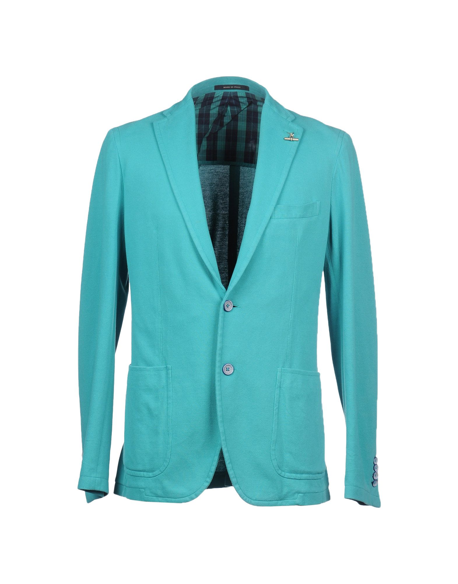 Tagliatore Blazer In Blue For Men Turquoise Lyst