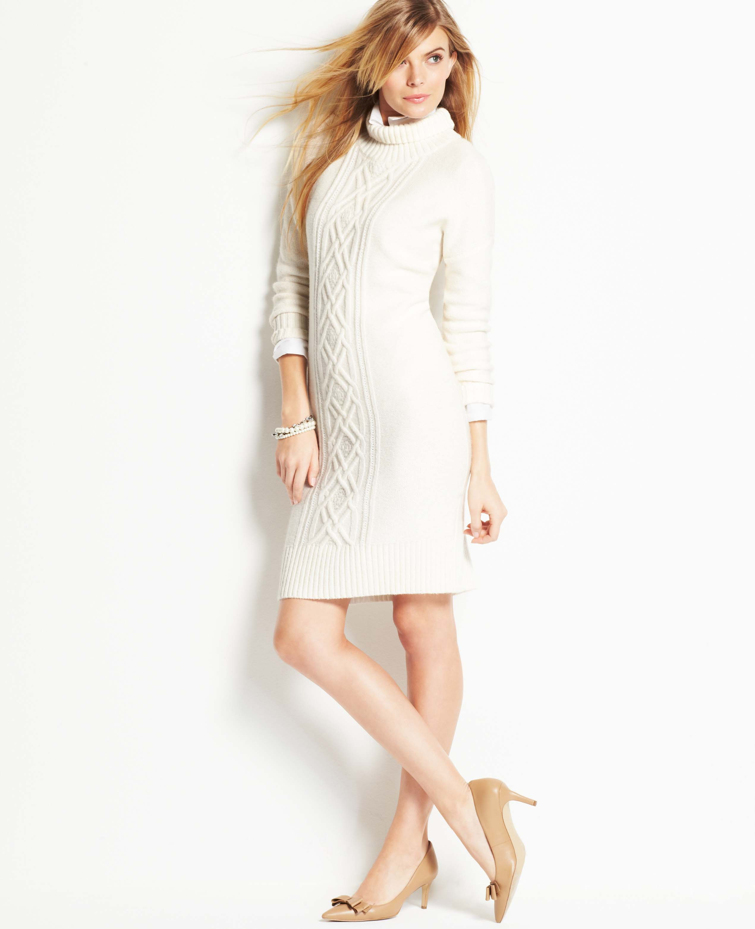Sweater Cable dress pictures catalog photo
