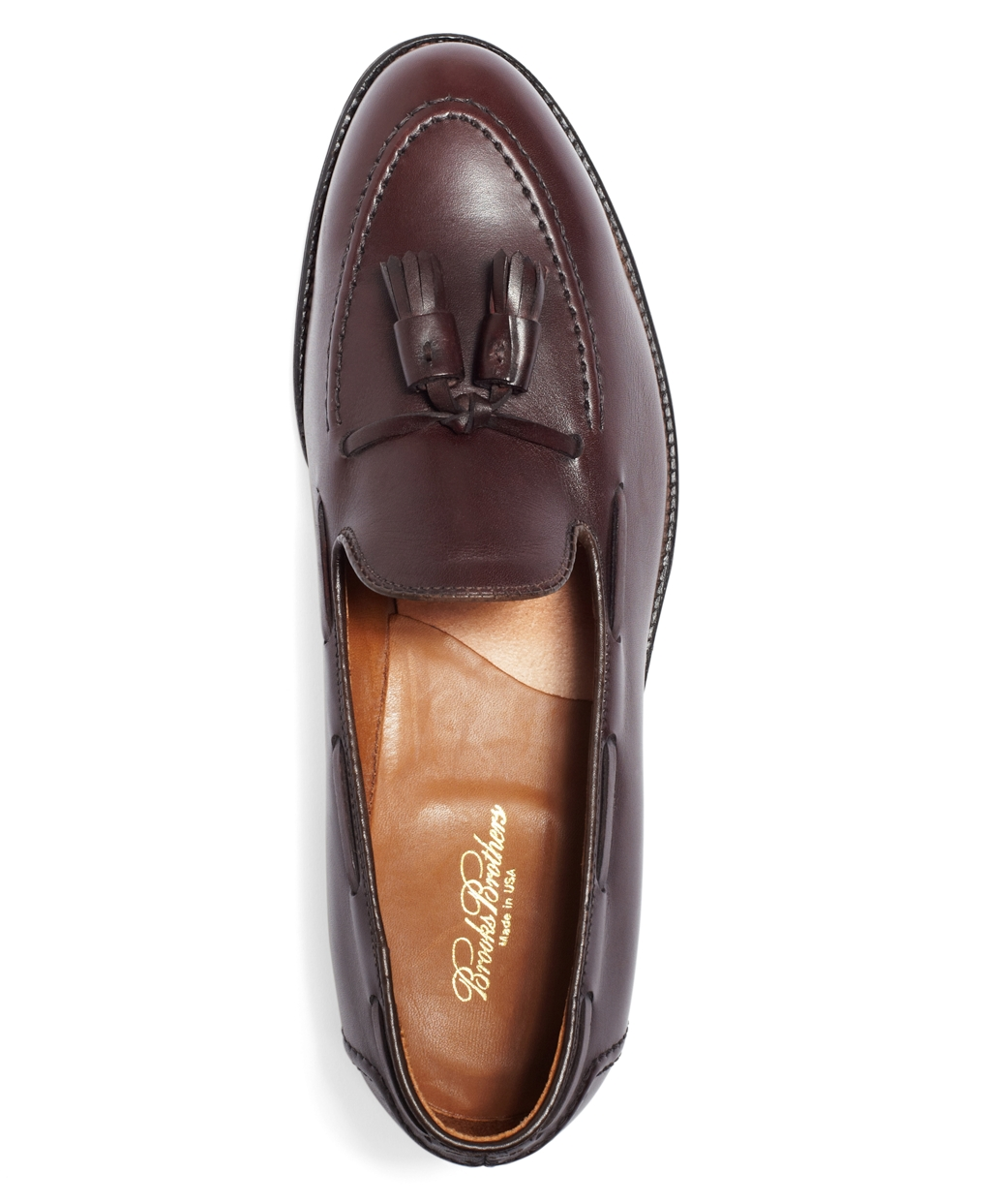 e247cd7e1d0 Lyst - Brooks Brothers Tassel Loafers in Purple for Men