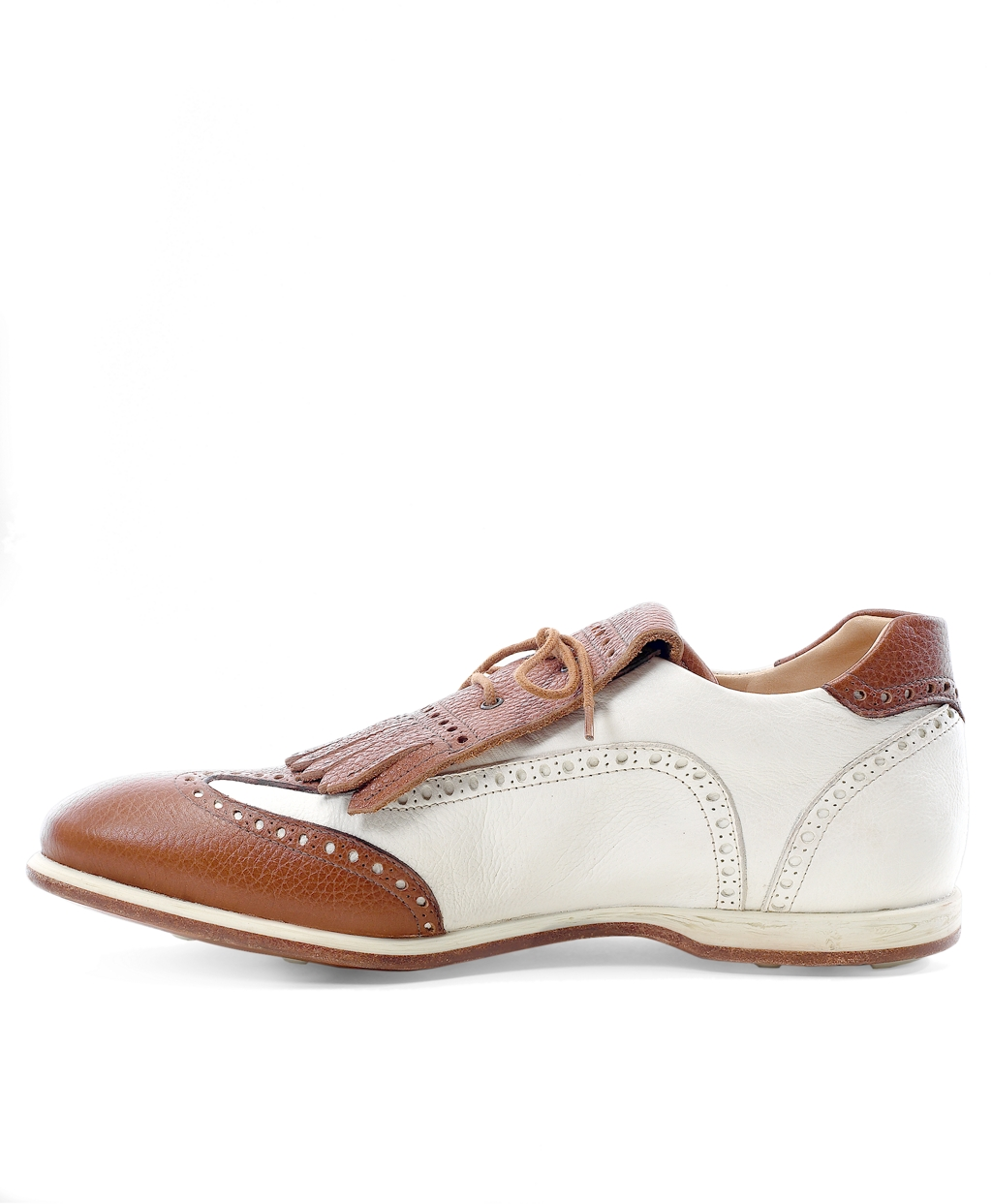 0256adf27e7c2 Lyst - Brooks Brothers Kiltie Golf Shoes in Brown for Men