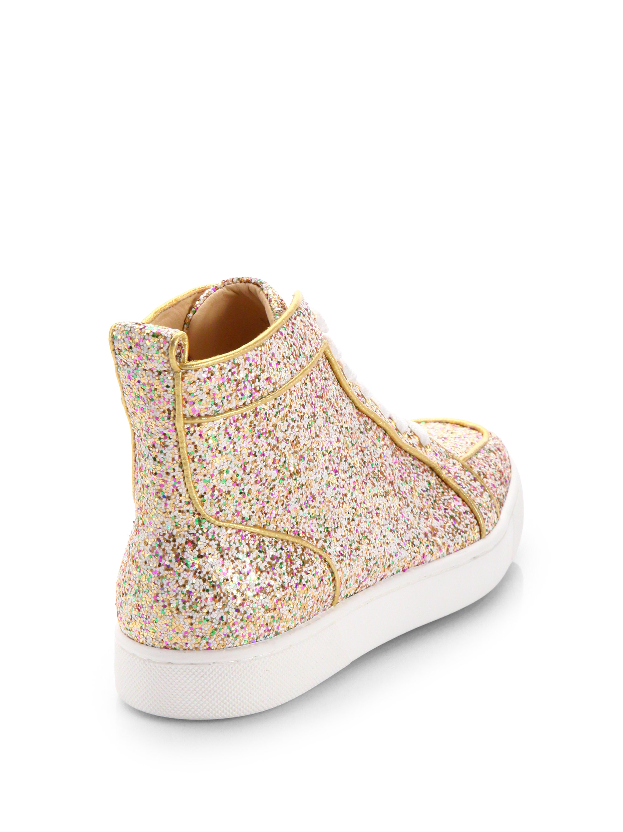 promo code 36d1f 49366 usa louboutin womens high top sneakers 3a076 672ab