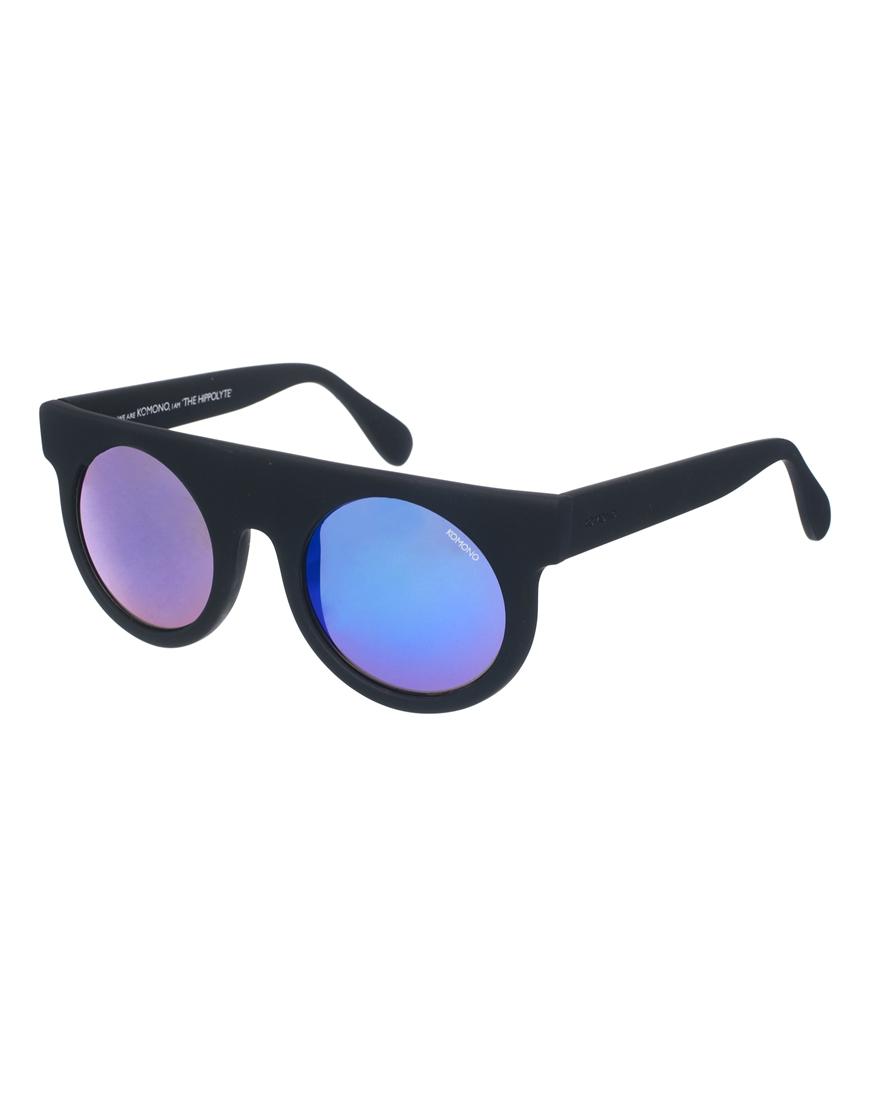 0f44c11c879f Lyst - Komono Hippolyte Round Sunglasses in Black for Men