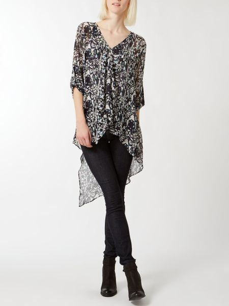 Women'S Blouses With Long Tail 99