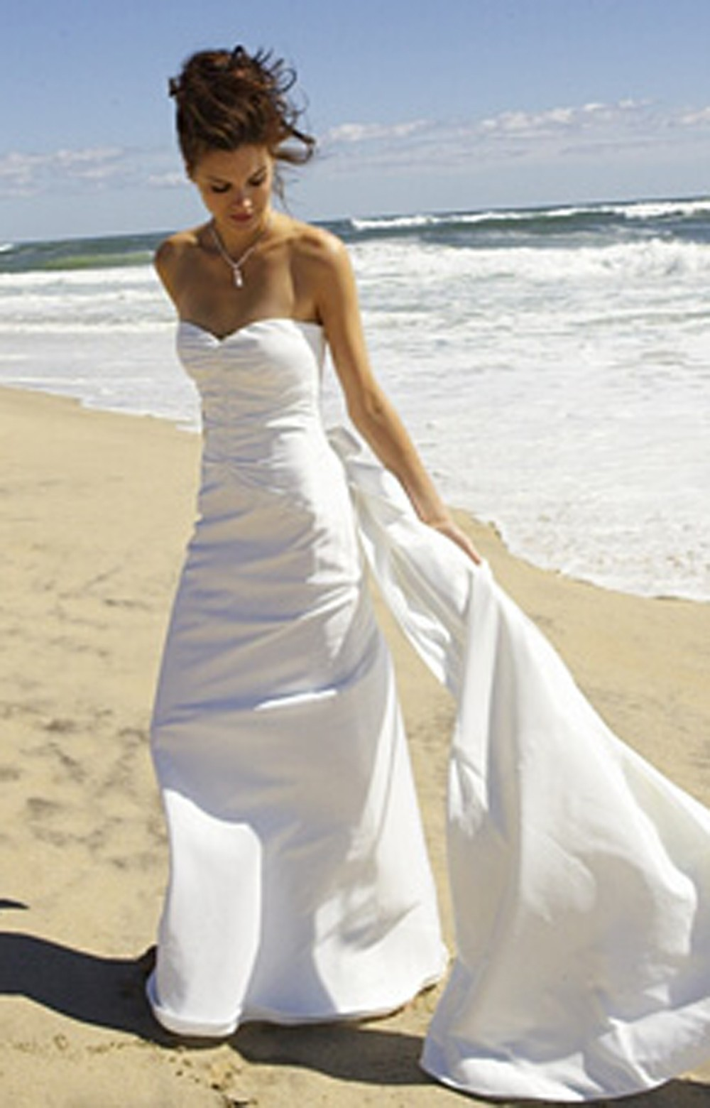 nicole miller wedding dresses lyst miller carrie bridal gown in white 6163