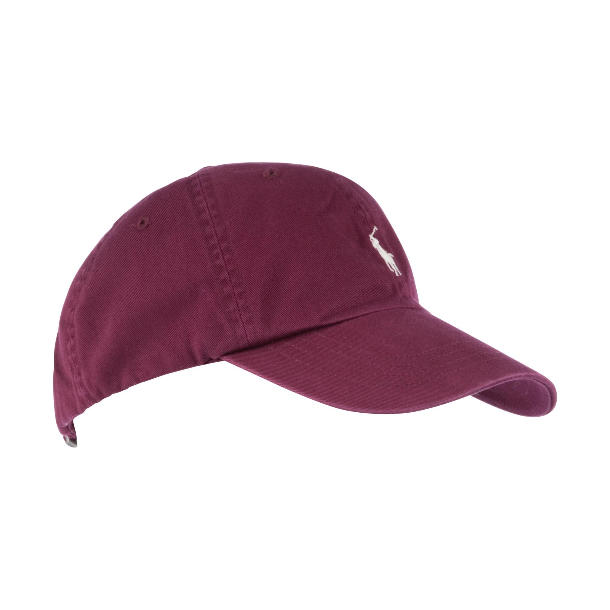 6a963edf82 Polo Ralph Lauren Baseball Cap in Red for Men - Lyst